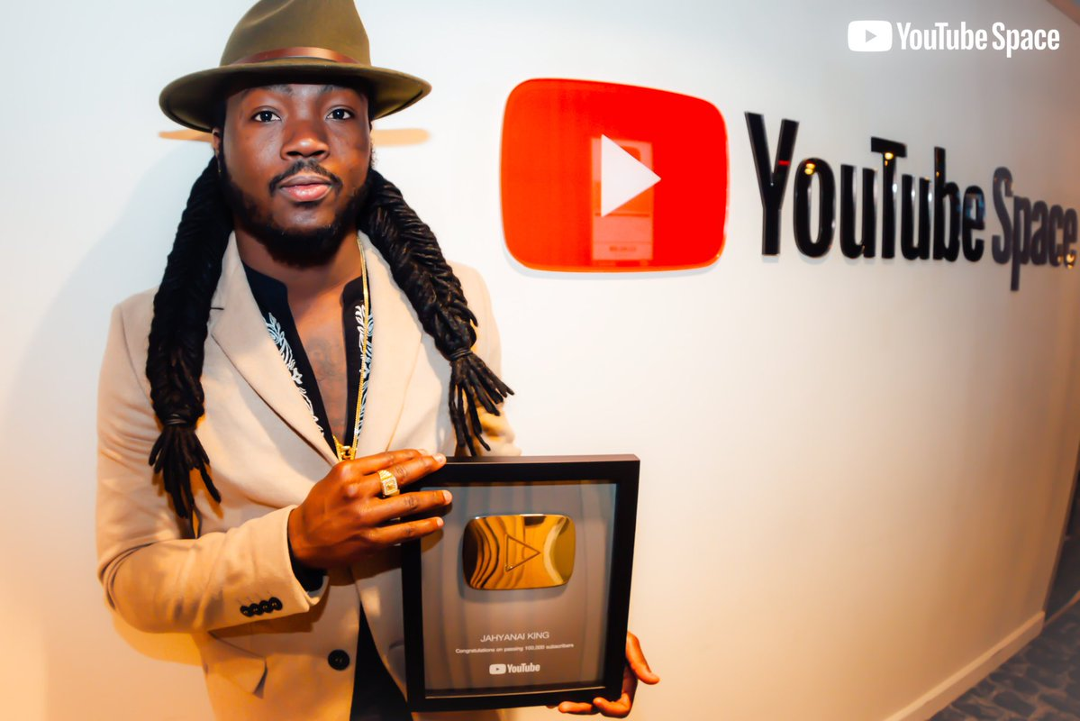 Jahyanai King récompensé par Youtube Space