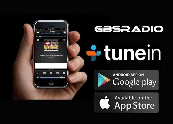 GBSRADIO disponible sur Tunein