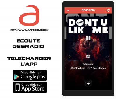 GBSRADIO disponible sur APPSIDIOUS