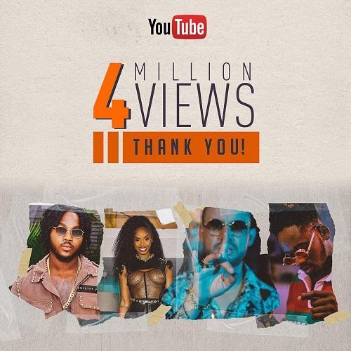 Dj Battle Jahyanai, Bamby & Mr. Eazi atteint plus de 4 000 000 vues