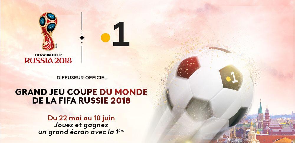 Grand Jeu Coupe du Monde de la Fifa Russie 2018 avec Guyane 1ère