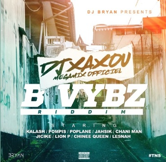 B VYBZ Riddim Mix | By Dj Xaxou