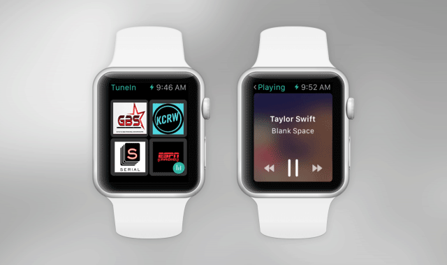 GBSRADIO sur Apple Watch