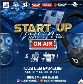 Start Up Night Mix (Dj Woolymix & Dj LuiGi) (06.06.20)