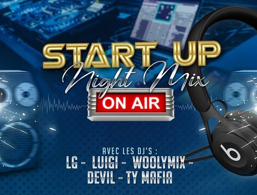 Start Up Night Mix (Dj Woolymix & Dj LG) (29.08.2020)