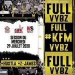 Dj Hustla & D'Jay Z-James – Rediffusion KFM session du 29.07.20