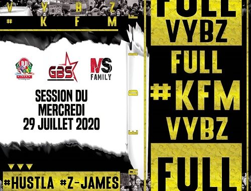 Dj Hustla & D'Jay Z-James – Rediffusion KFM session du 29.07.20
