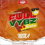 Dj Hustla - Full Vybz Live (Rédiffusion KFM)