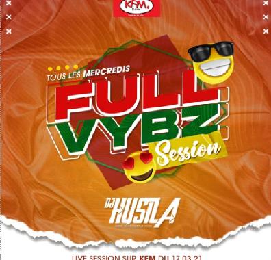 Dj Hustla – Full Vybz Session (Rédiffusion KFM)
